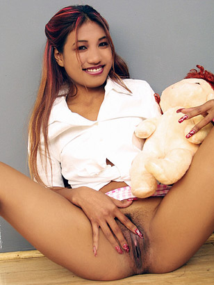 Hot Young Indian Teen Schoolgirl Raises Up Her Skirt And Teases Her Tight Hairy Coochie