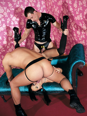 Cristina Bella knows that a Dominatrix who can also be dominated is a dream come true, she adores hardcore sex and wants to get cum sprayed in her face and mouth